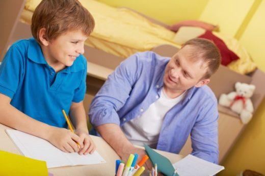 nauka zdalna pomoc rodzica