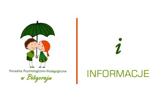 komunikat Poradni - informacje